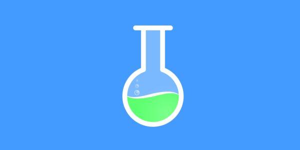 test tube, chemistry, green